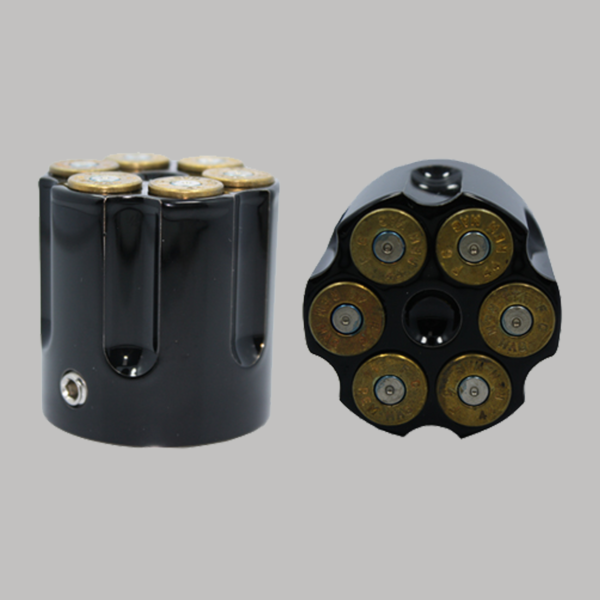 Black Cartridge Brass Bullet