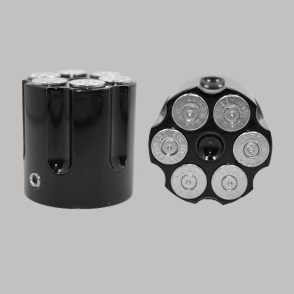 Black Cartridge Chrome Bullet
