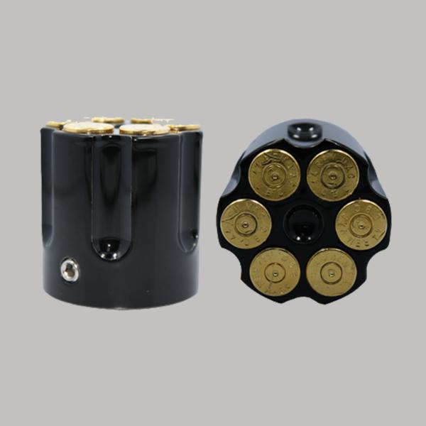 Black Cartridge 24k Gold Bullet