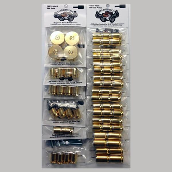 Harley-Davidson 24k Gold Bullet Casing Screw Cover
