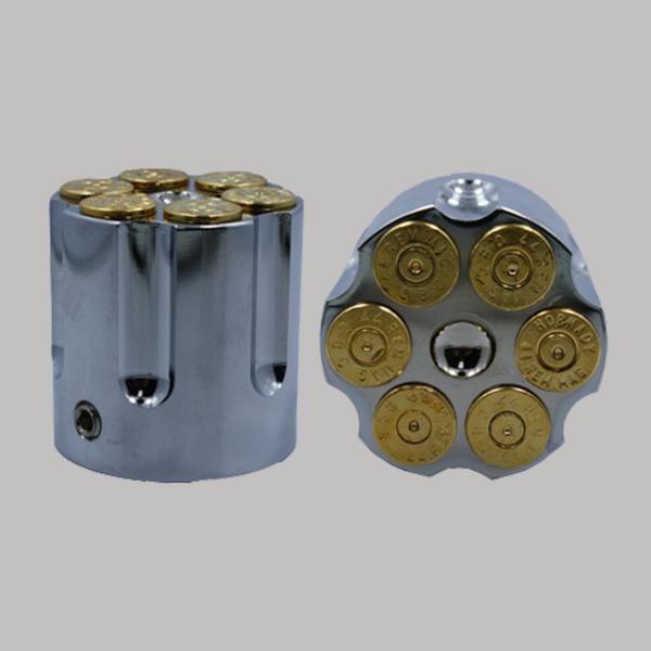 Chrome Cartridge 24k Gold Bullet
