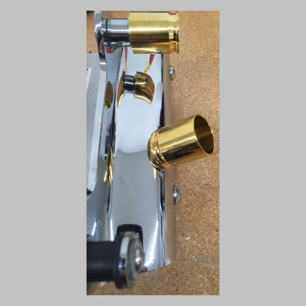 Long Style Docking Post Covers 24k Gold