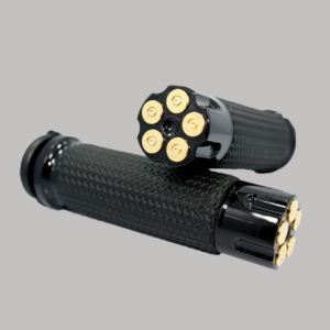 Memory Foam Handgrip Black Cartridge 24k Bullet