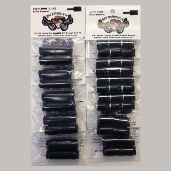 Indian Thunder Stroke Black Bullet Screw Cover Kit