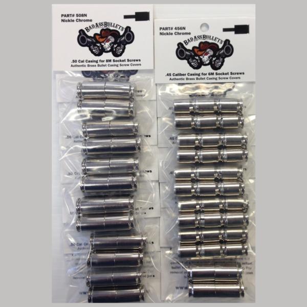 Indian Thunder Stroke 111 Chrome Bullet Screw Cover Kit