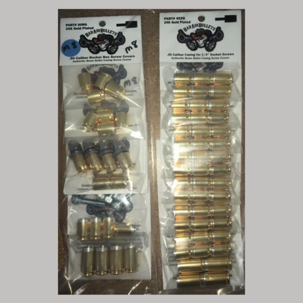 Milwaukee 8 24k Gold Bullet Screw Cover Kit