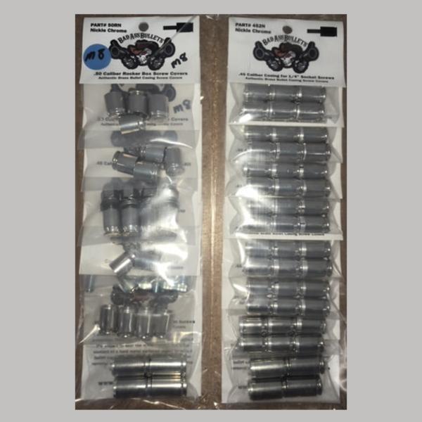 Milwaukee 8 Black Bullet Screw Cover Kit